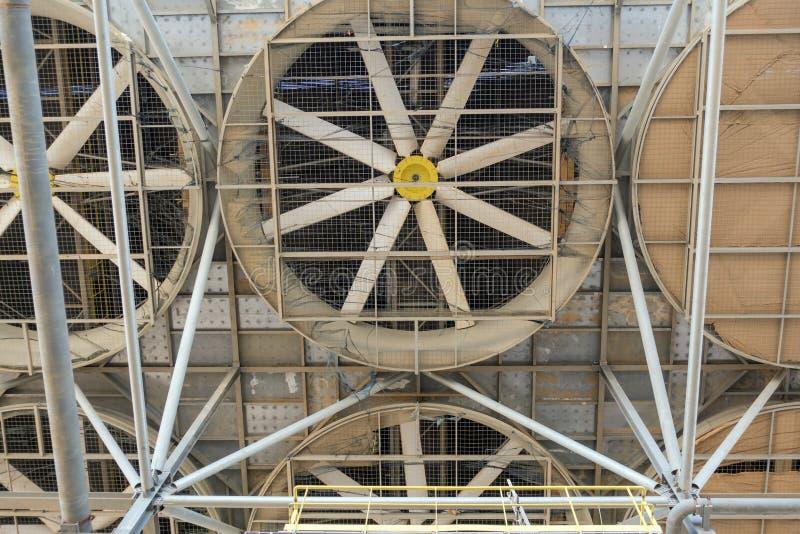 Pales de ventilateur photographie stock libre de droits