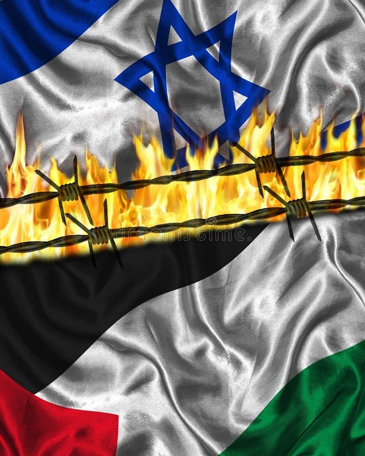 Palestijns Israëlisch Conflict royalty-vrije stock afbeeldingen