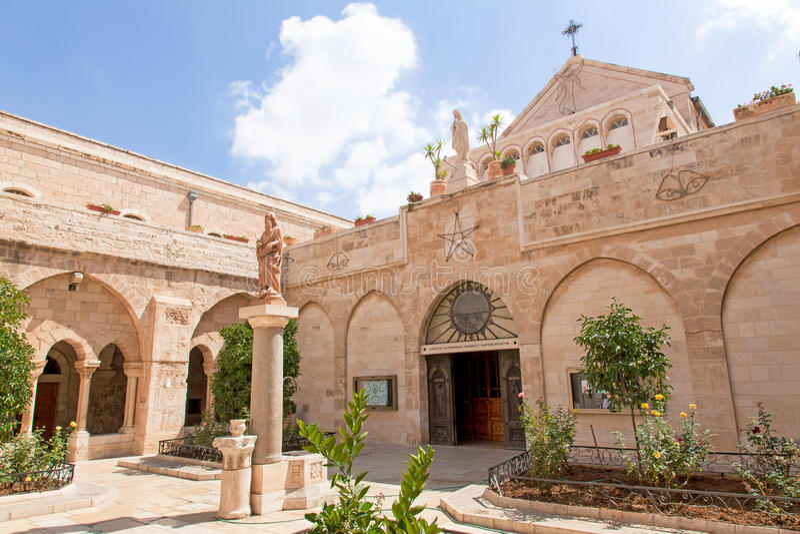 Palestin. Bethlehem. La iglesia de la natividad fotografía de archivo libre de regalías
