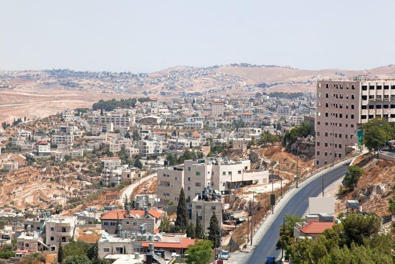 Palestin. The city of Bethlehem royalty free stock images