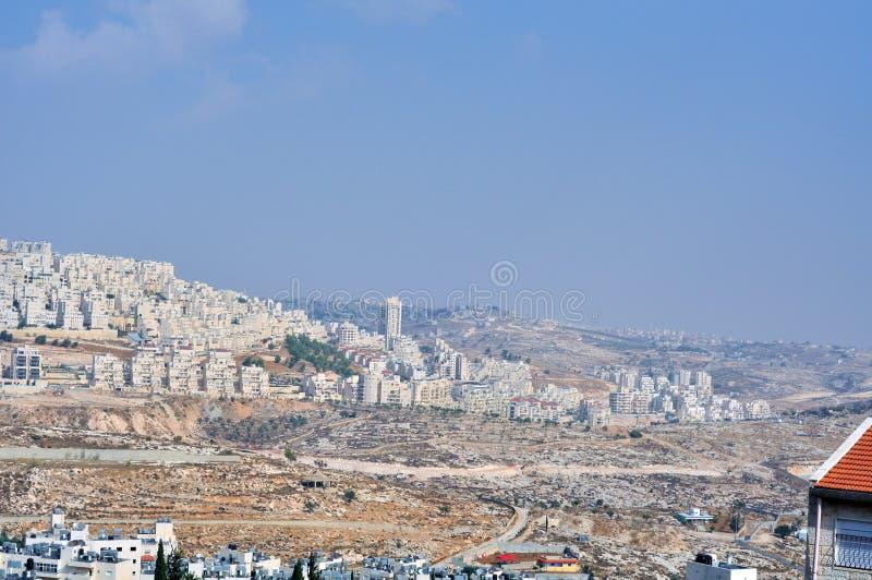 Palestin. The city of Bethlehem stock photos