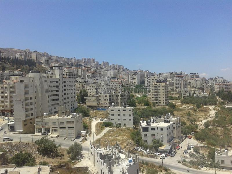 Palestina nablus royaltyfri bild