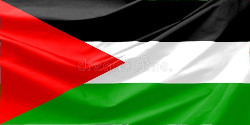 Download Palestine Flag stock illustration. Illustration of global - 6333520
