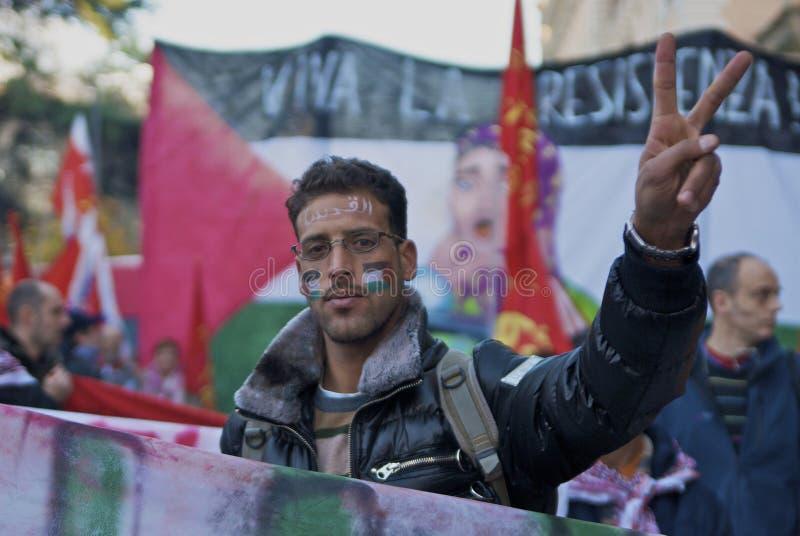 palestine fred arkivbilder
