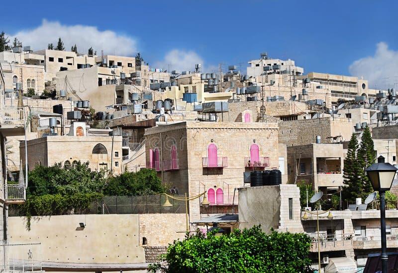 palestine La ville de Bethlehem photos libres de droits