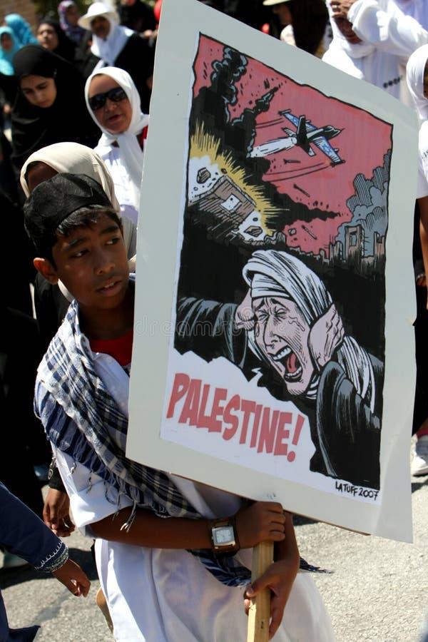 palestine protest fotografering för bildbyråer