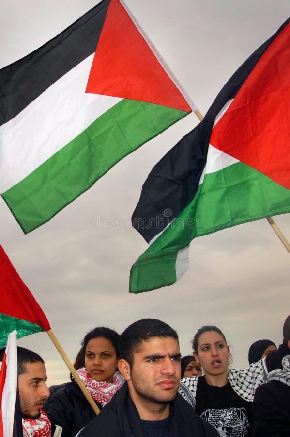 Palestinskt folk arkivfoto