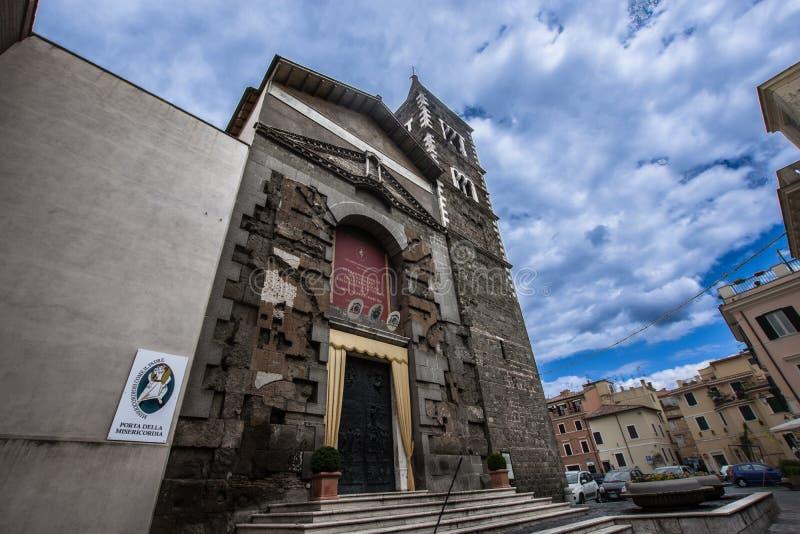 Palestrina S Agapito royaltyfria foton