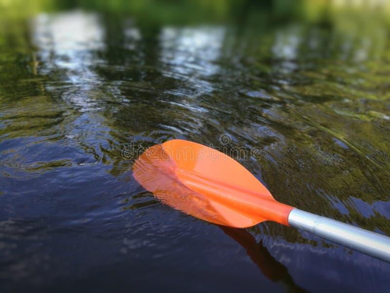 Paleta Canoeing imagenes de archivo