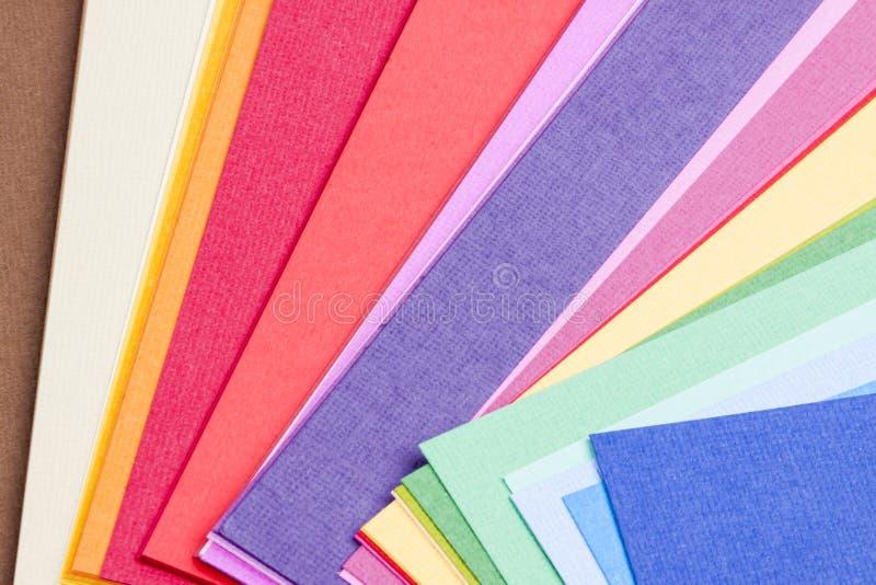Paleta colorida fotografía de archivo libre de regalías