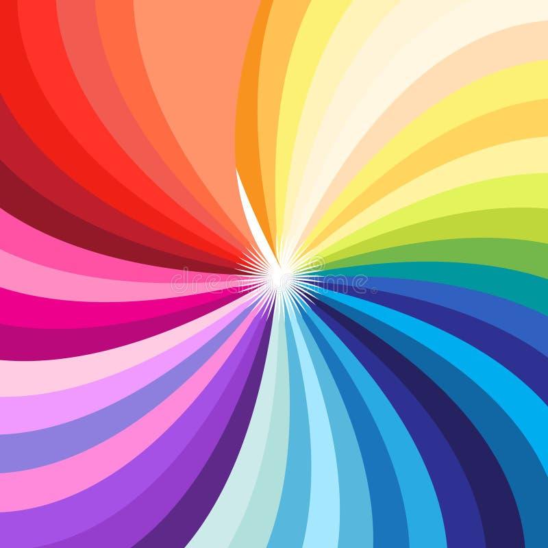 Paleta colorido brilhante do vetor de todas as cores ilustração do vetor