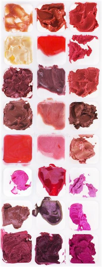 Paleta da composição fotos de stock