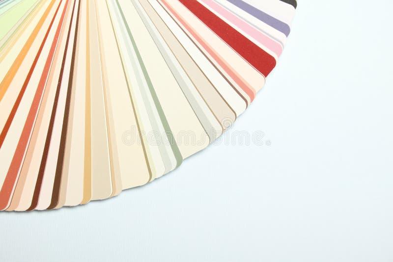 Paleta das cores imagens de stock royalty free