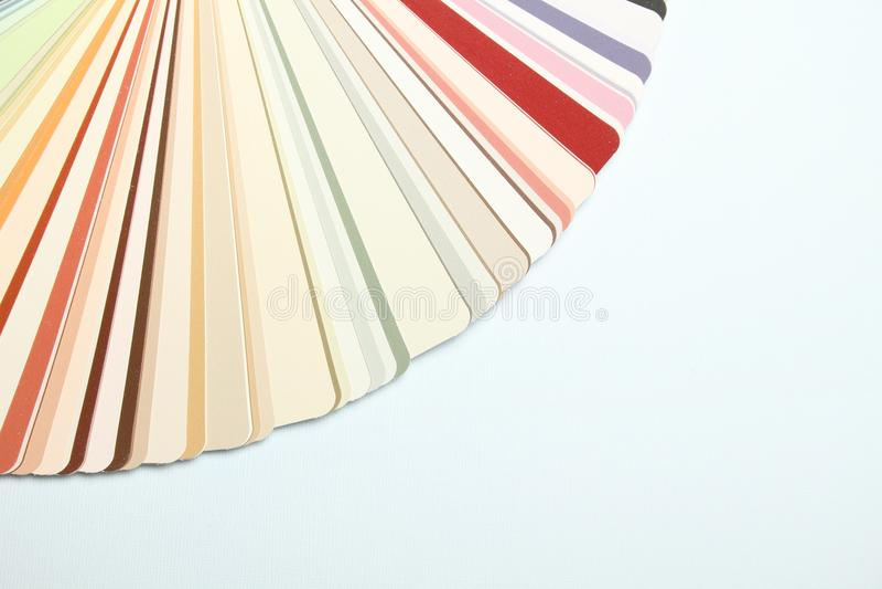 Paleta de colores imágenes de archivo libres de regalías