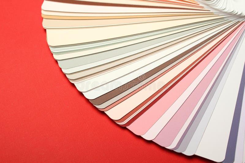 Paleta de colores imagenes de archivo