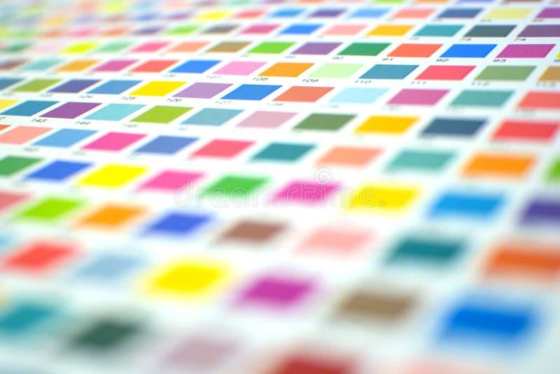 Paleta de cor foto de stock royalty free