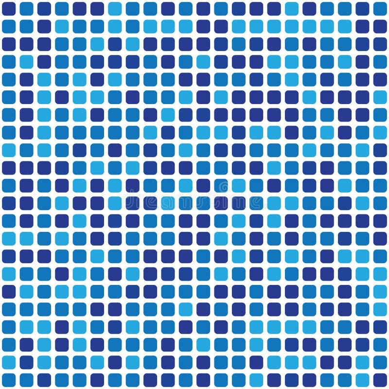 Paleta do vetor 484 formas na gama azul dispersada caoticamente ilustração do vetor