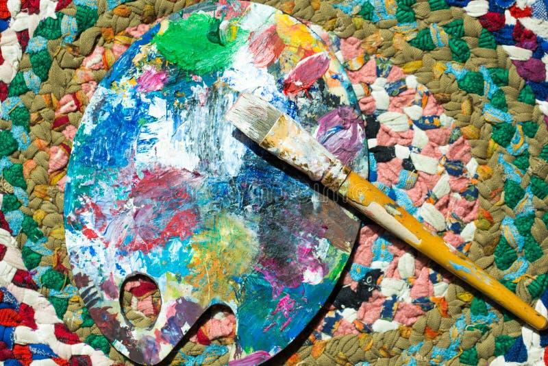 Paleta Da Composição Das Cores Foto de Stock - Imagem de