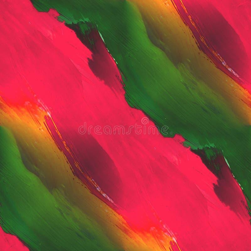 Paleta obrazka ramy czerwień, kolor żółty, zielona grafika ilustracja wektor