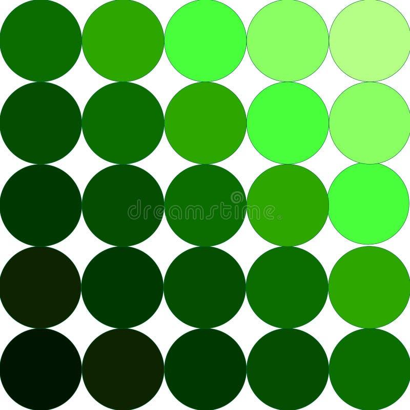 Paleta verde imagen de archivo