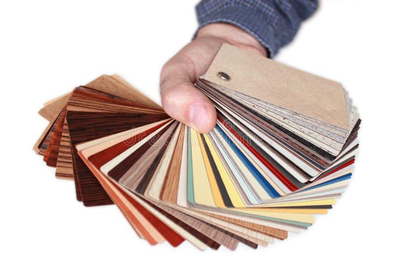 Palete di colore fotografia stock libera da diritti