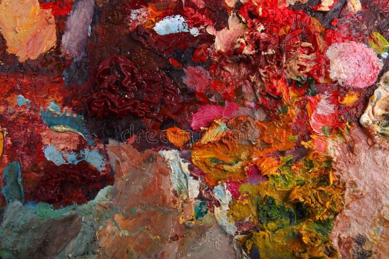 Palette image stock