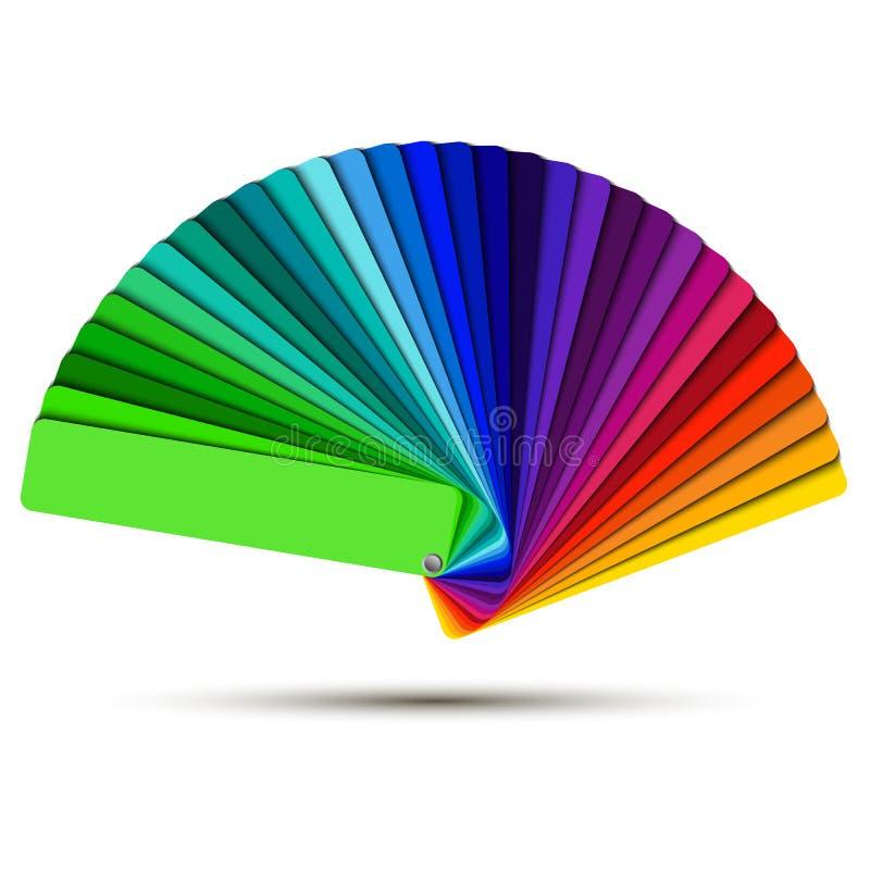 Palette de couleurs illustration libre de droits