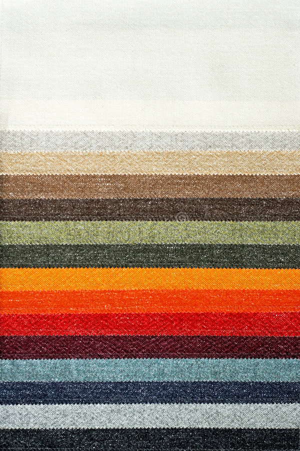 Palette de tapis photo stock