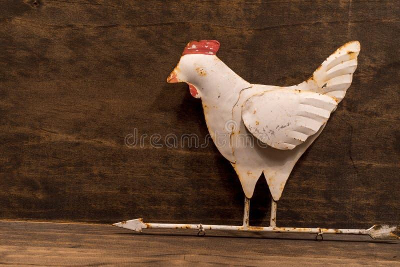 Palette de temps rustique de vent de poulet image stock