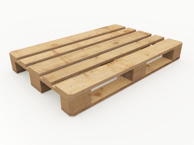 Palette en bois illustration de vecteur