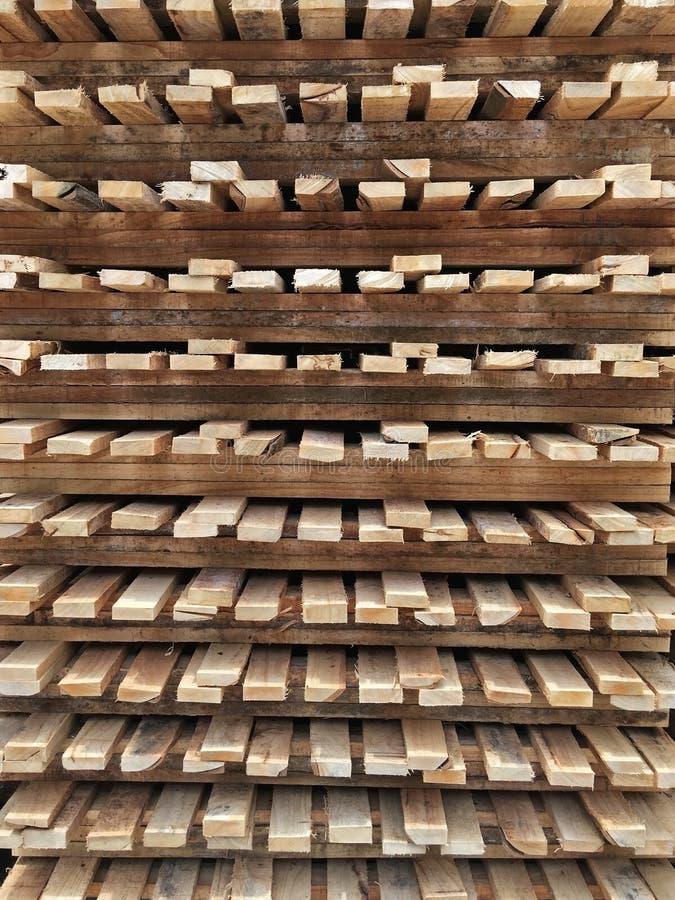 Palette en bois photos stock