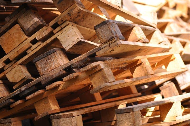 Palette en bois images stock