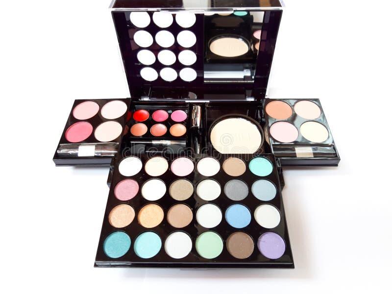Paletten van de samenstellings de Kleurrijke Oogschaduw!! stock foto