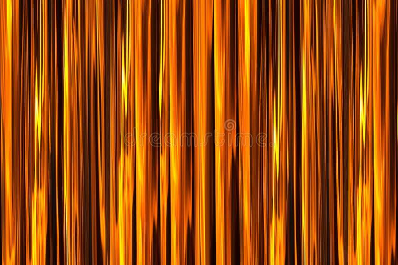 Palettern dorato arancio di effetto del fondo del fuoco della fiamma di progettazione luminosa verticale del fondamento illustrazione vettoriale