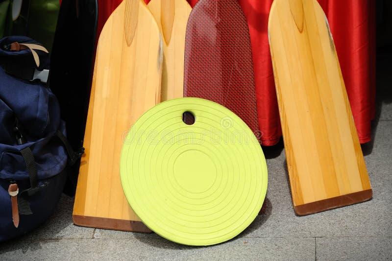 Palettes en bois photographie stock libre de droits