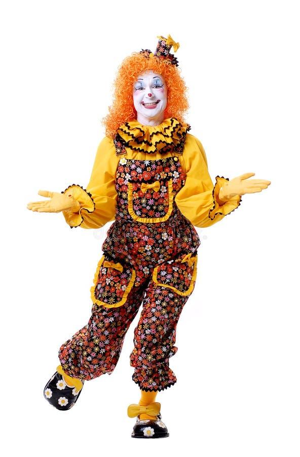 Palhaço de circo foto de stock royalty free