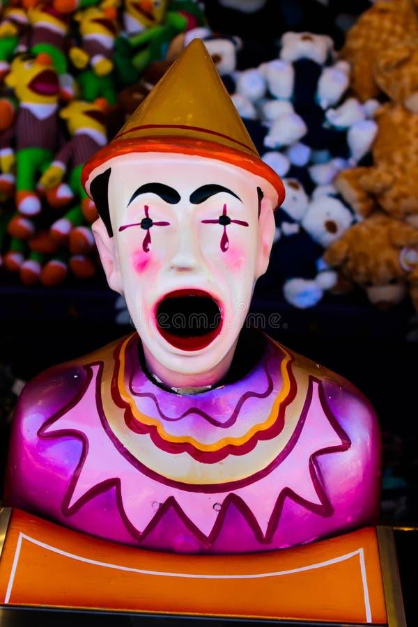 Palhaço do jogo do carnaval imagens de stock royalty free