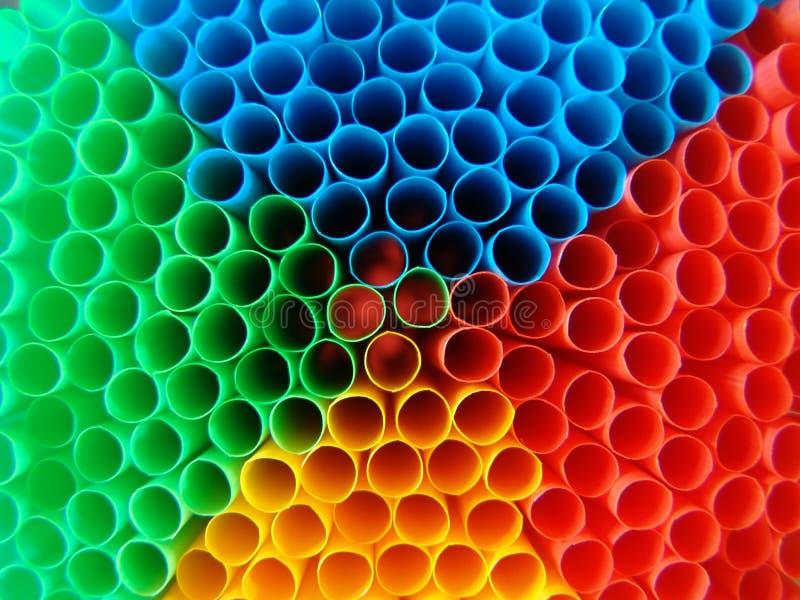 Palhas Psicadélicos Fotografia de Stock