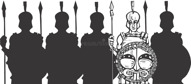 paliczek royalty ilustracja