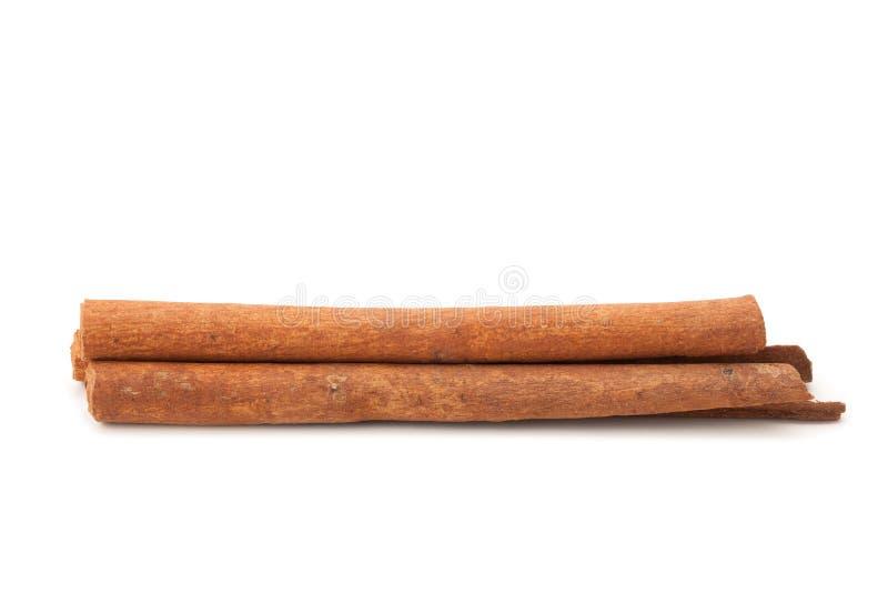 Palillo de canela del primer imágenes de archivo libres de regalías