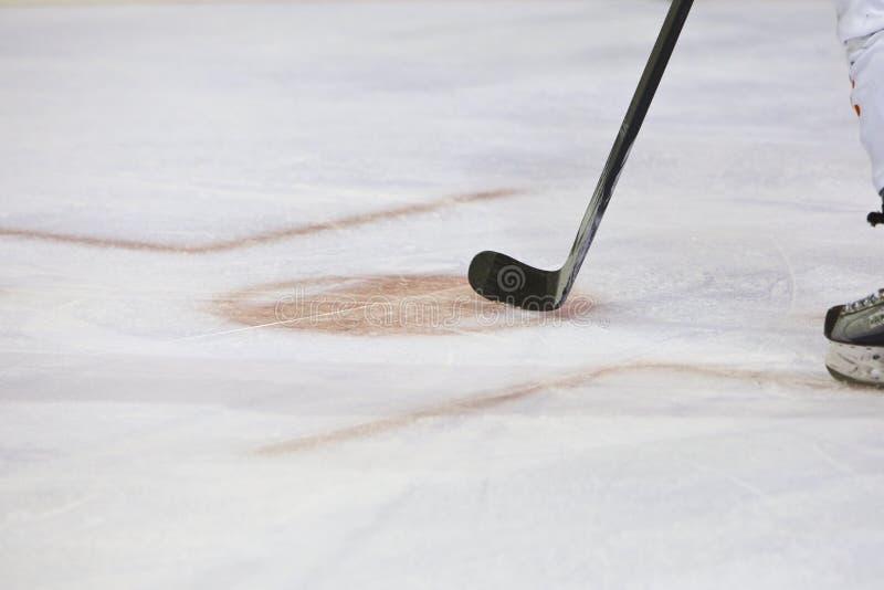 Palillo de Icehockey imagenes de archivo