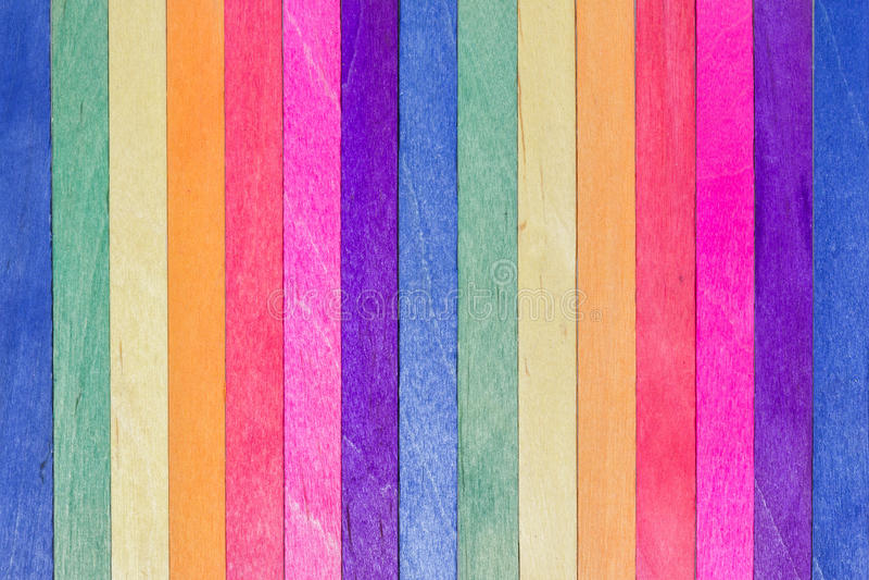 Download Palillo De Madera Colorido Del Helado Imagen de archivo - Imagen de decoración, mezclador: 41914101
