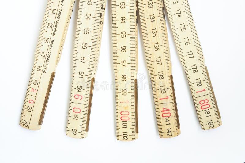 Palillo de medición imagen de archivo libre de regalías