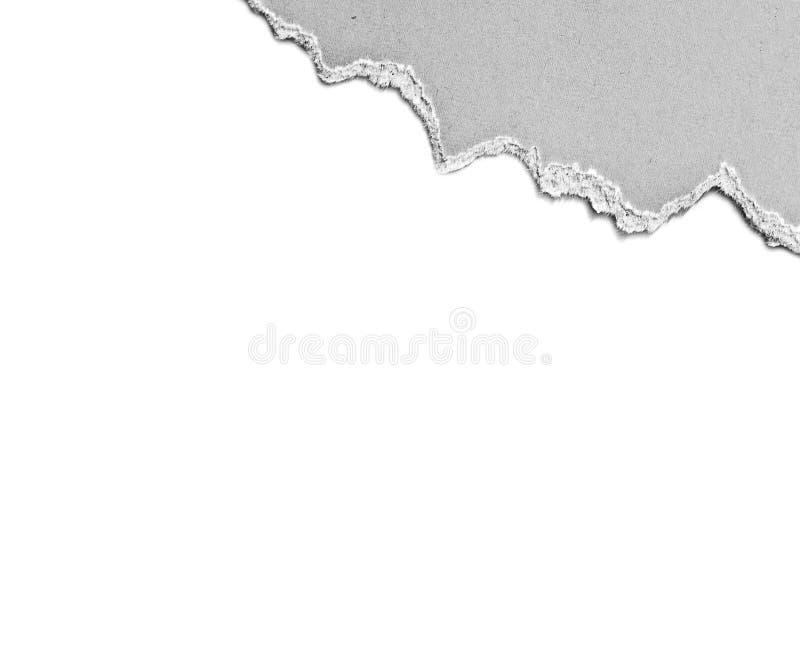 Palillo de papel reciclado imagen de archivo