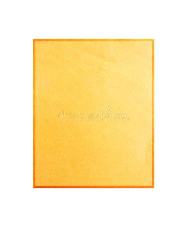 Palillo de papel reciclado imagen de archivo libre de regalías