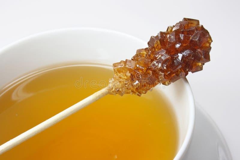 Palillo y té de Swizzle foto de archivo libre de regalías