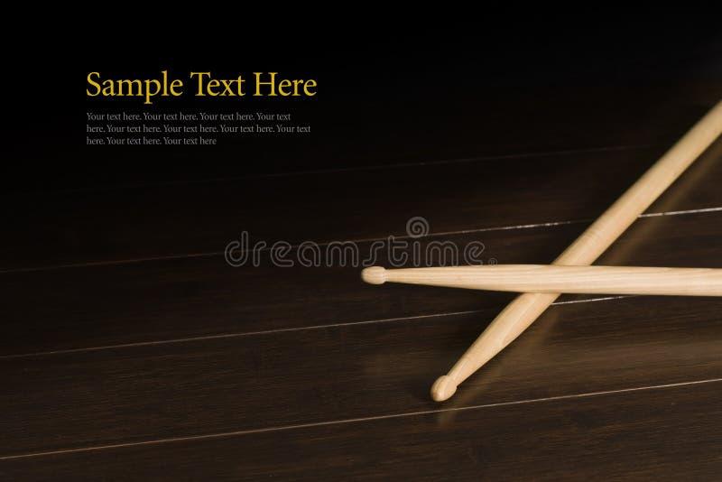 Palillos de madera foto de archivo libre de regalías