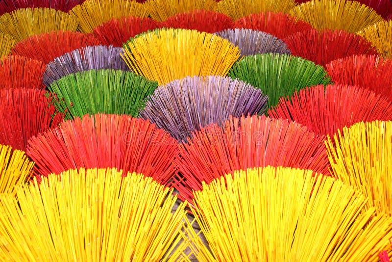 Palillos del color imagen de archivo