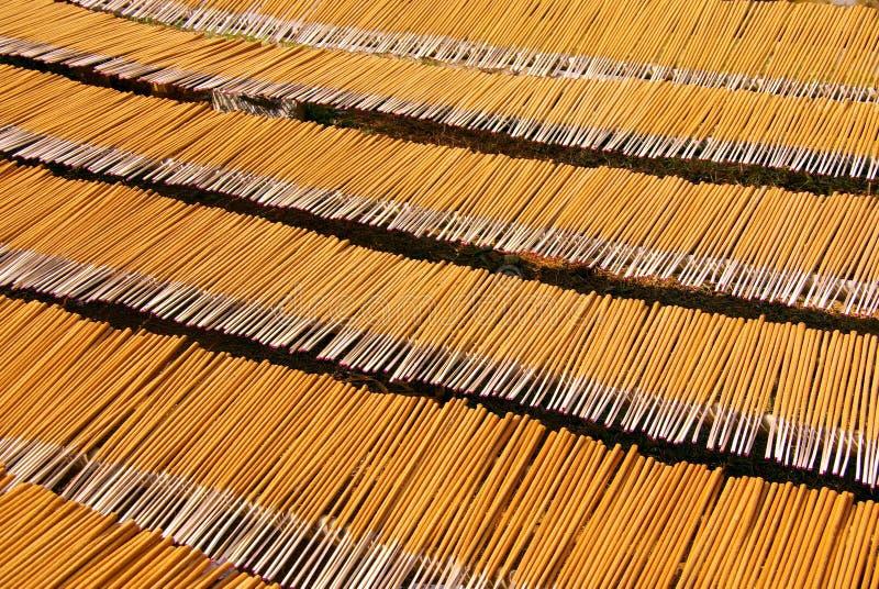Palillos del incienso fotografía de archivo libre de regalías