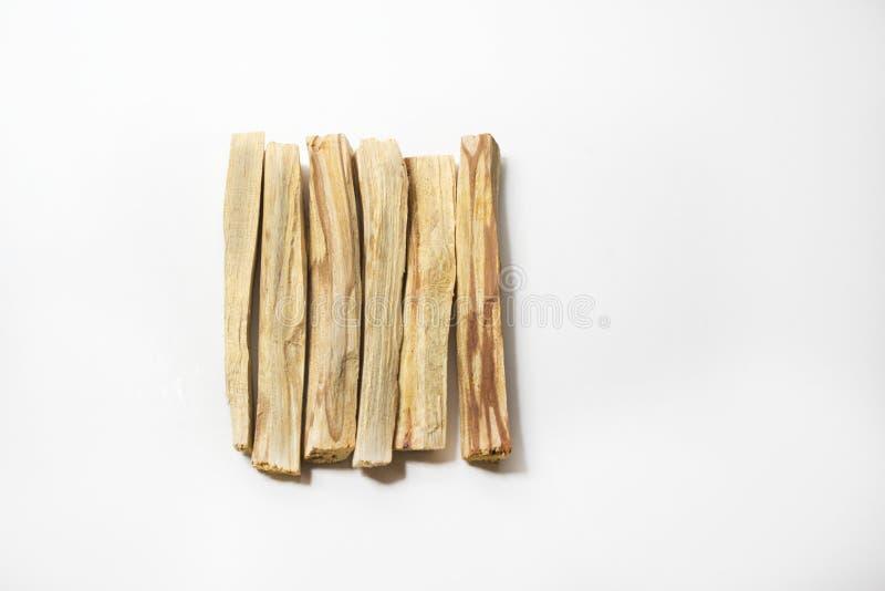 Palillos del incienso del santo de Palo foto de archivo